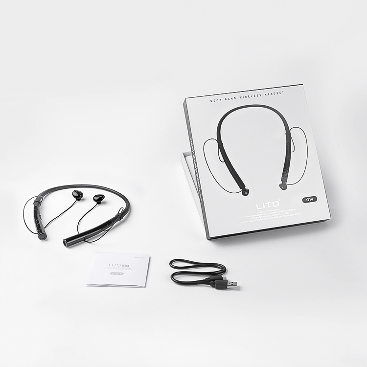 stereo wireless headphone with mic