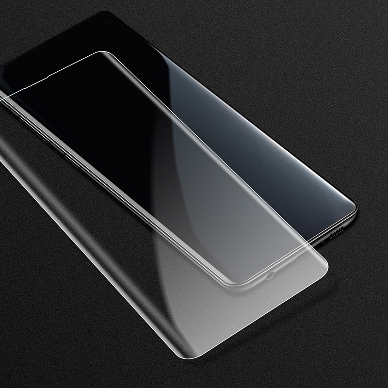 S10 plus liquid glass screen protector