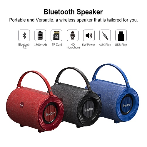 OneDer Bluetooth Mic And Speaker