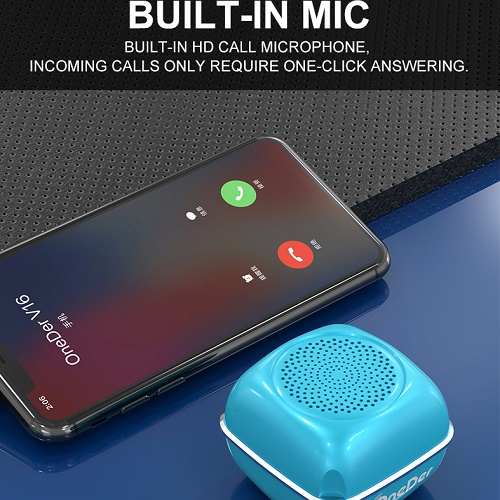 Wireless Bluetooth Speaker With Mic