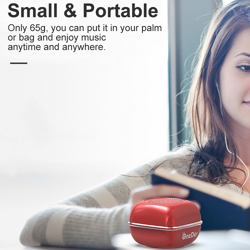 Small And Portable Bluetooth Speaker