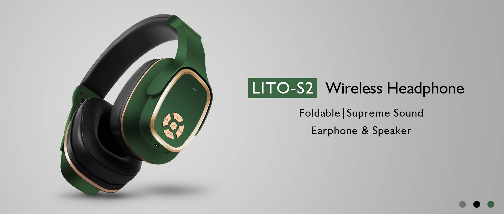 Lito S2 Wireless Earphones Bluetooth 5.0 Headphones With Microphone For Bulk Buy